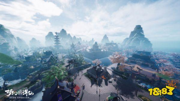 《梦幻新诛仙》测评:不管老玩家还是新玩家,精美的世界都能满足你