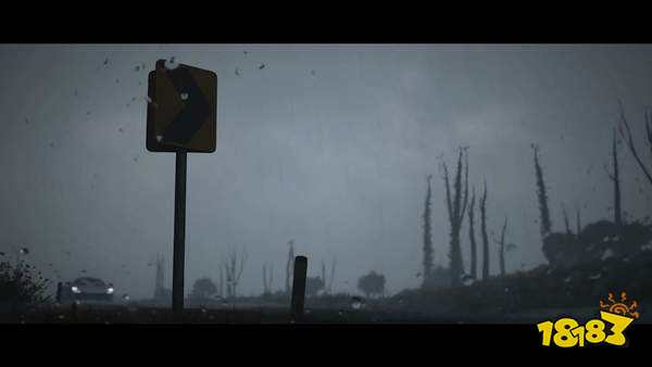 《极限竞速:地平线5》动态天气演示 迈凯伦穿越沙尘暴