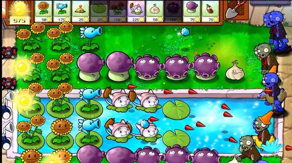 植物大战僵尸泳池