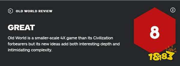 回合制SLG《旧世界》IGN 8分 UI杂乱无章,机制有趣