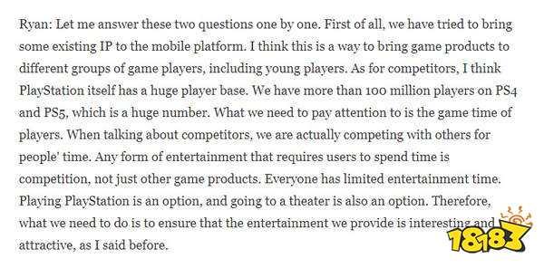 不仅上PC还要上手机 索尼CEO称会将现有IP改成手游