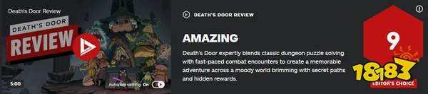 动作冒险《死亡之门》IGN 9分 瑕不掩瑜,惊艳之作
