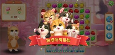 探索萌宠轻趣陪伴需求,《小猫爱消除》游戏思考