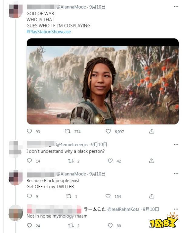 都是神话!《战神:诸神黄昏》叙事总监谈黑人女角色争议