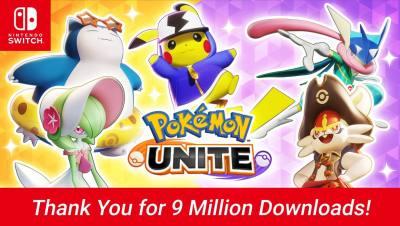 《宝可梦大集结》官方宣布:NS版下载量破900万!