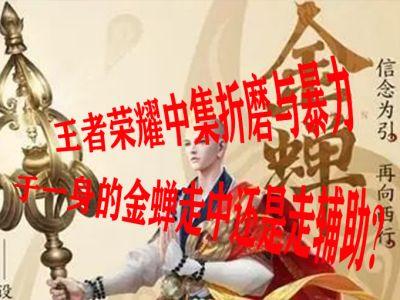 王者荣耀中集折磨与暴力于一身的金蝉走中还是走辅助?