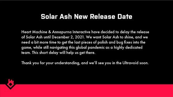 《太阳灰国》为打造更好的游戏体验 上线时间延期至12月