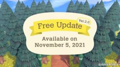 《动森》大型更新11月5日上线 加入种田做菜等新内容